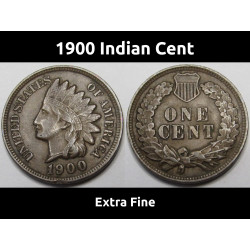 1900 Indian Head Cent - old...