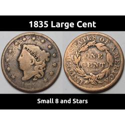 1835 Matron Head Large Cent...