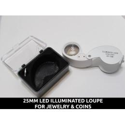 25mm Illuminated LED Loupe...