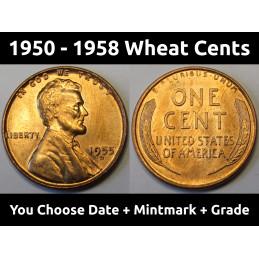 Lincoln Wheat Pennies -...