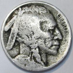 1917 P Buffalo Nickel -...