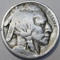 1918 P Buffalo Nickel - Good
