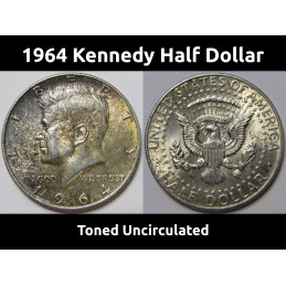 1964 Toned Uncirculated...