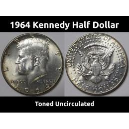 1964 Kennedy Half Dollar -...