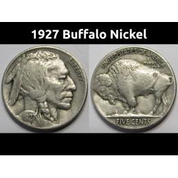 1927 Buffalo Nickel - great...