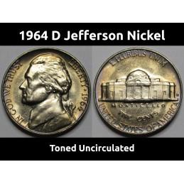 1964 D Jefferson Nickel -...
