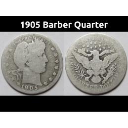 1905 Barber Quarter - old...