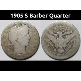 1905 S Barber Quarter -...