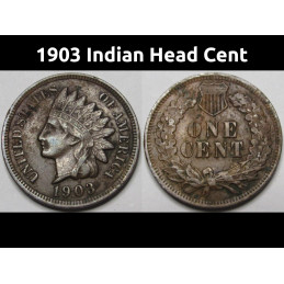 1903 Indian Head Cent - old...