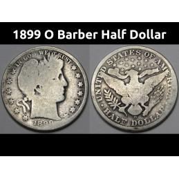1899 O Barber Half Dollar -...