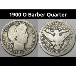 1900 O Barber Quarter -...