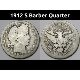 1912 S Barber Quarter - old...