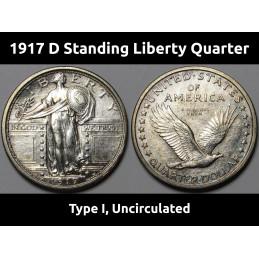1917 D Type 1 Standing...