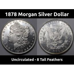 1878 8 TF Morgan Silver...