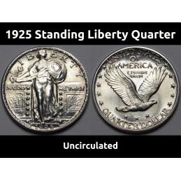 1925 Standing Liberty...