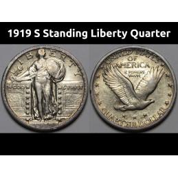 1919 S Standing Liberty...