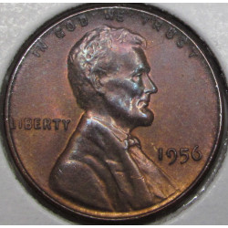 1956 Lincoln Cent - toned...