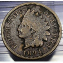 1894 Indian Head Cent - Good Details