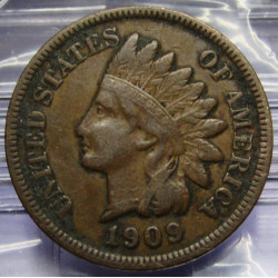 1909 Indian Head Cent - XF...