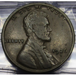 1926 D Lincoln Wheat Cent -...