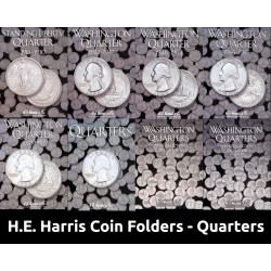 H.E. Harris Coin Folders...
