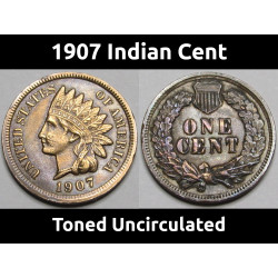 1907 Indian Head Cent -...